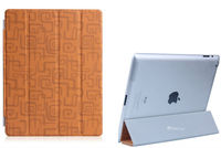 new arrival hot selling golden leather case cover for ipad air case