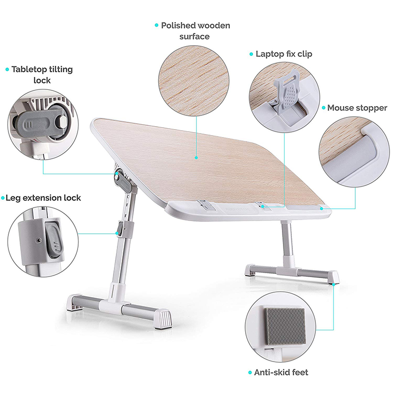 foldable notebook table