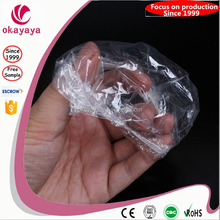 2015 High Quality Disposable waterproof PE plastic ear cover for SPA / shower / hair salon