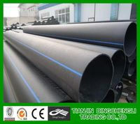 hdpe pipe price list PE100 large diameter polyethylene pipe/pe pipe