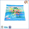 Customized small pure aluminum foil lined and three side seal Penang packaging bag
