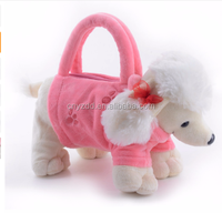 Plush Cartoon Dogs for Kids Coin Holder 3D Toys Schnauzer Toys for Children Girls Best New Year Gifts