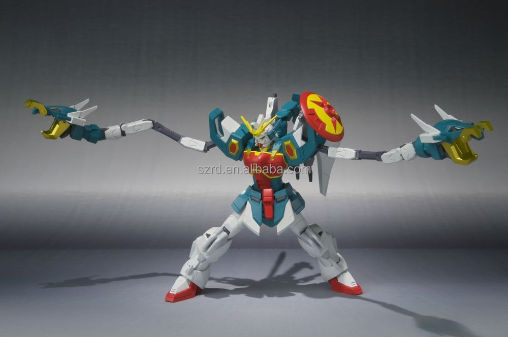 wholesale Japanese movie bandai toys gundam robot pvc action figure