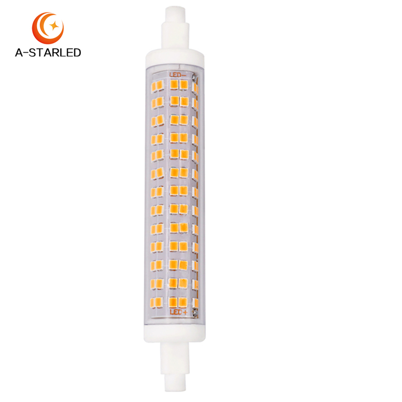 360 degree 10w 118mm r7s led,high lumen 10w r7s led light