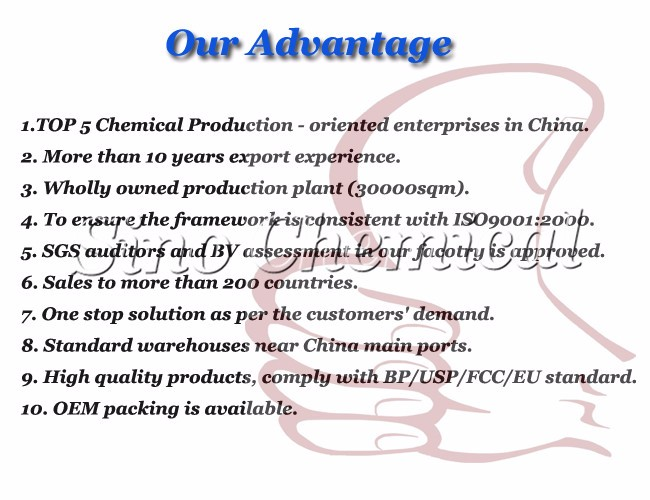 For Baked Goods Price Food Grade Ammonium Bicarbonate