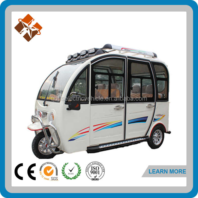 CE Certification and taxi passenger tricycles with wagon