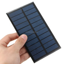 Clear Epoxy Resin Solar Panels with Potting and Coating to charge mobile phone, smartphone on the outdoor sun umbrella