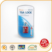 Digit Resettable Combination Luggage Padlock, Luggage Lock