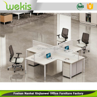 Modern Design Office Furniture 4 Seats Workstation