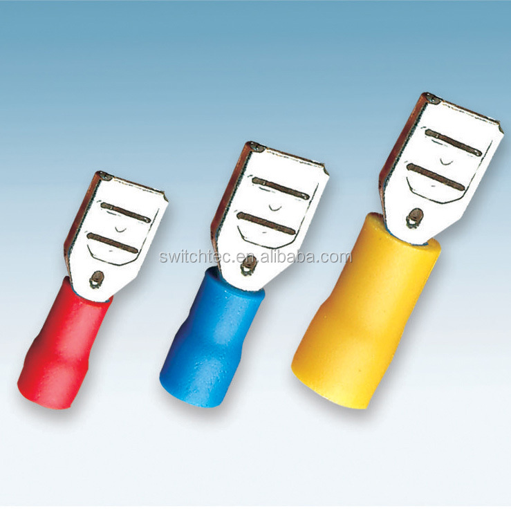 Switchtec FDD Insulated Female Cable Terminal, Ring pre-insulated terminal connector, Crimp terminal