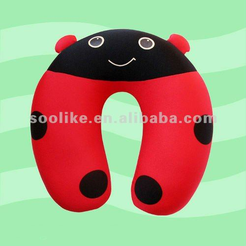various animal shape funny baby pillow filled polystyrene beads