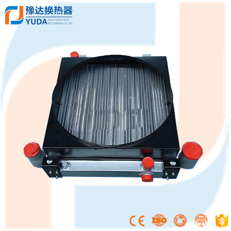 aluminium radiator for industry machinery (8KW plate fin exchanger lubricating oil system )