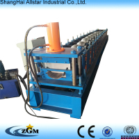 rain gutter roll forming machine/rainwater gutter pipe cold roll forming machines