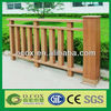 China Useful Garden Wood Plastic Composite WPC Post /Fence Rail For Sale
