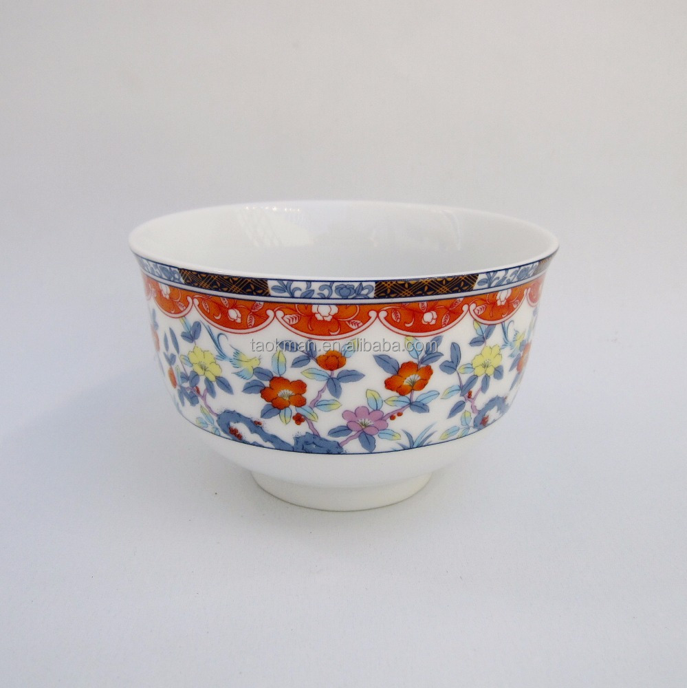 Japanes style products large round modern family use cheap decorative bowl