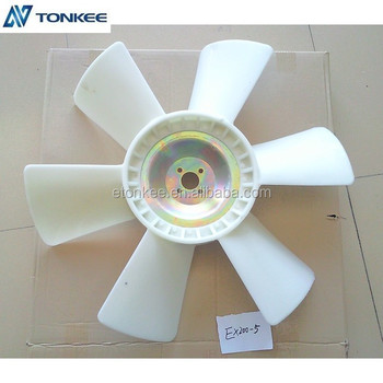 6BG1genuine new fan EX200-5 cooling fan 6BG1 ZX200