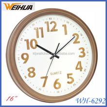 New item Plastic unique office decoration wall clock