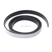 Self adhesive magnetic strip