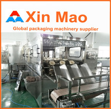 water keg filling machine, Pure water mineral water barrel rinsing filling machine