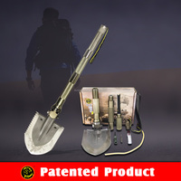 Amazing NEW Function Emergency Automobile Tools/ HI-Carbon Steel Shovel Folding pick spade /Survival kit