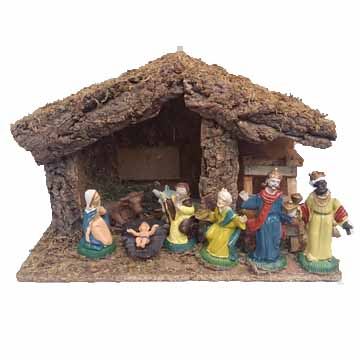 Nativity set , Christmas crafts and gifts