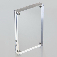 fashionable plastic/perspex acrylic photo frame supplier