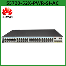 Huawei S5720-52X-PWR-SI-AC Layer 3 48 Ports POE 10G Switch With 48 Ethernet 10/100/1,000 PoE+ ports