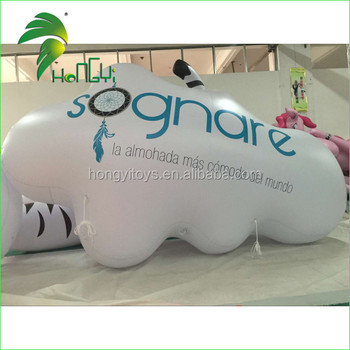 Inflatable Floating Advertising Helium Balloon / Inflatable Cloud Sky Balloon
