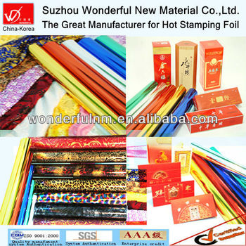 Hot Foil Stamping for textile