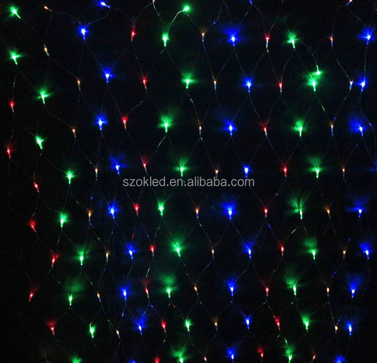 Wedding decoration trees LED christmas led net lights fairy lights mesh nets fairy lights Outdoor garden christmas decoration