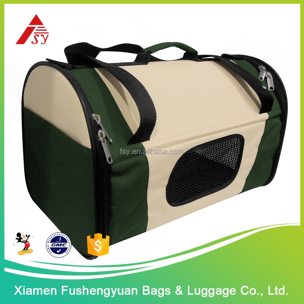 Wholesale china products 600D polyester foldable dog crate / pet cage