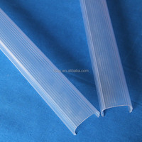 Plastic Extrusion Profile LED Lamp Shade
