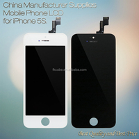 Best Performance for iphone 5S LCD touched screen with low cost and shipping fee