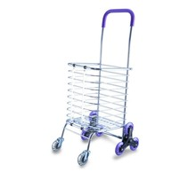 Climb stairs folding shopping cart wheels foldable shopping cart