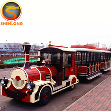 Zhengzhou Shenlong Amusement Park Games Used Backyard Electric Classical Trains For Sale