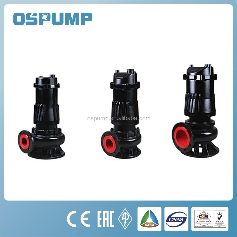 2017 New Submersible sewage pump QW/WQ series solar pump