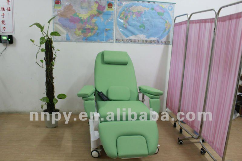 Most confortable dialysis chair for hemodialysis treatment