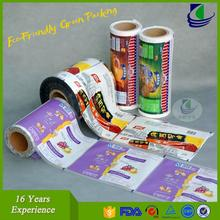 Food grade vacuum custom aluminum lamination printed plastic packing film wholesale