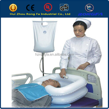 Hair Wash Basin Inflatable RF Shampoo For Disabled