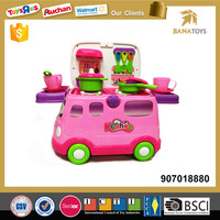 Children New Style Fast Food Car Kitchen Toy for Sale