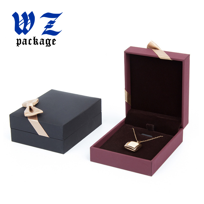 Custom Size Gift Packaging Jewelry Paper box With Logo