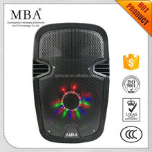 Hot sale trending 8 inch outdoor portable trolley sound pa system speaker bluetooth speaker outdoor portable bluetooth speaker