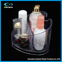 Fashionable customized clear acrylic cosmetics display box