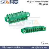MC1.5/2-STF-3.81 Phoenix flanged 3.81mm pin connector terminal block connector