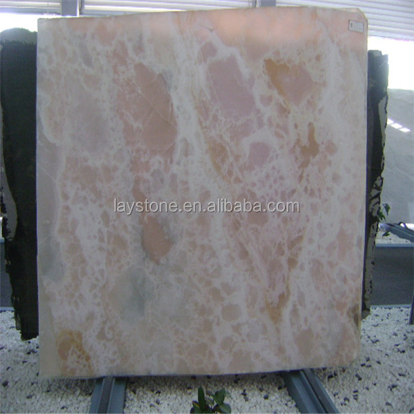 Special pink marble onyx table