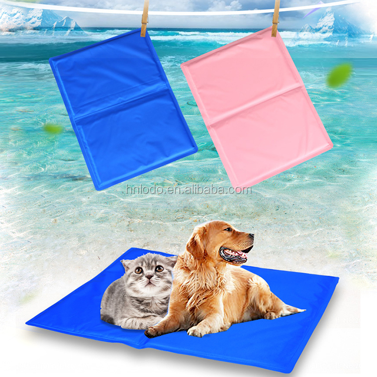 50*65cm Blue PVC Waterproof High Quality Cooling Gel Mat Icy Pad For <strong>Pet</strong>