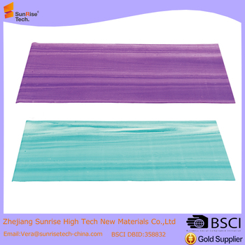 Rainbow PVC Yoga Mat Sling Carry Strap 3MM