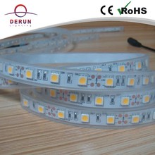 Manufacture SMD flexible 5050 led strip 300leds waterproof IP67 with high quality