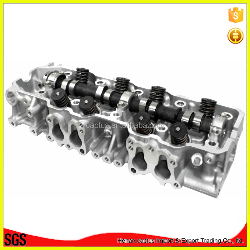 Complete cylinder head assy 22r 22re 22r-te engine 11101-35060 for toyota coaster