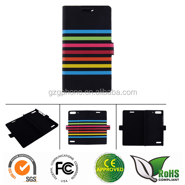 OEM/ ODM custom printing leather lighter case for Huawei G6